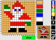 Christmas Mozaics 16x16 Christmas Mosaics, Christmas Games, Fictional Characters, Fantasy Characters, Holiday Party Games