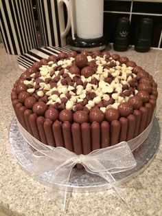 Malteser Chocolate Finger cake have to do this when the cake