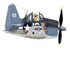 Aviation Humor, Aviation Art, Ww2 Aircraft, Military Aircraft, Air Fighter, Fighter Jets, Uss Tarawa, Caricatures, Cartoon Plane