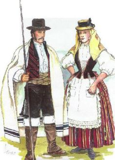 Tenerife, Folk Costume, Costumes, Regional, Canary Islands, Folklore, Spain, Traditional, Illustration