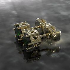 Boucle d'oreille, Or 18K, C$442.75 Argent Sterling, Cufflinks, Accessories, Boucle D'oreille, Ears, Locs, Jewerly, Wedding Cufflinks, Jewelry Accessories