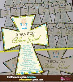 #Bautizo #invitaciones