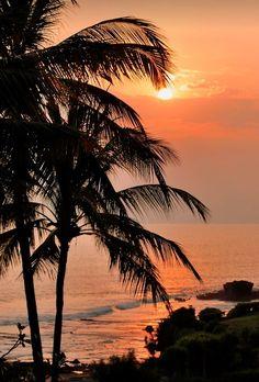 "nature-planet: "" Tanah Lot Sunset - Bali   justindelaney """