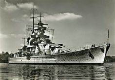 Gneisenau was a German capital ship, alternatively described as a battleship and battlecruiser, of Nazi Germany's Kriegsmarine.