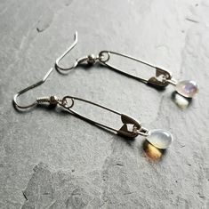 #SafetyPin Jewelry - #Teardrop #Earrings - Safety Pin #Movement - Safety #Pin Earrings - Safe Space Activist - #safetypin - Gift Idea for Woman - Handmade Jewelry - Ren Faire - DRAVYNMOOR