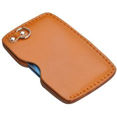 Items similar to Personalized Handcrafted Vegetable tanned leather Business Card Holder Cardholder credit card holder on Etsy Leather Wallet Pattern, Handmade Leather Wallet, Leather Card Case, Leather Keychain, Leather Pouch, Tan Leather, Leather Bags, Leather Wallets, Leather Business Card Holder