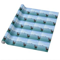 Wooden long-tail boat Thailand Wrapping Paper - wrapping paper custom diy cyo personalize unique present gift idea