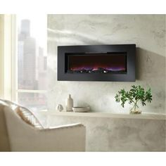 1000 Images About Fireplaces On Pinterest Electric Fireplaces Wall Mount Electric Fireplace