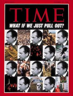 Time magazine from October This magazine features a nice front cover of Richard Nixon and Vietnam. This magazine is in overall good conditio Vietnam History, Vietnam War, American Presidents, American History, Time Magazine, Magazine Covers, Time Vault, High School Memories, Newspaper Headlines