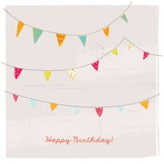 Birthday party card illustrator
