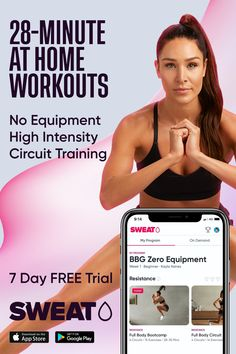 Band Workout, Gym Workout Videos, Tummy Workout, Gym Workout For Beginners, Fitness Workout For Women, Fitness Tips, Fitness Goals, Circuit Training Workouts, Workout Schedule