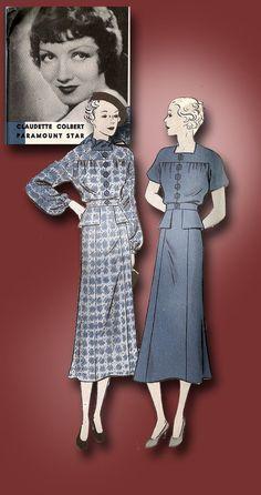 1934 fashion print