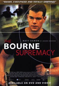 The Bourne Supremacy 11x17 Movie Poster (2004)