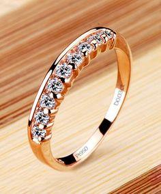 simple diamond wedding band