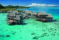 Conrad Bora Bora Nui offers 5 star luxury rooms and suites. Enjoy your stay at this upscale Bora Bora hotel. Best Places To Honeymoon, Honeymoon Spots, Honeymoon Destinations, Vacation Spots, Places To Travel, Places To See, Romantic Destinations, Affordable Honeymoon, Honeymoon Ideas