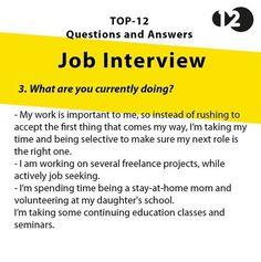 Job Interview Questions Part 5 Job Interview Answers, Job Interview Preparation, Interview Skills, Job Interview Tips, Job Interviews, Job Resume, Resume Tips, Resume Help, Resume Skills