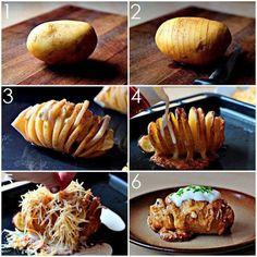 Do It Yourself.| Scalloped Hasselback Potatoes