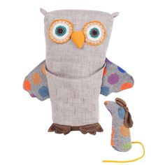 Woodland Owl and Mouse