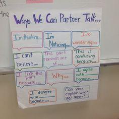 accountable talk posters | Accountable talk poster. Thanks to Pinterest