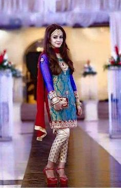 Pakistani Wedding Dress Gorgeous