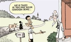 BARRY'S TRADE | Apr/07/15 Political Cartoons by Robert Ariail