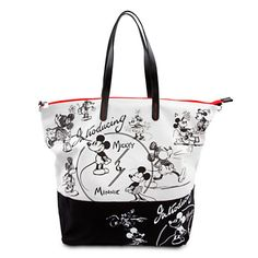 Mickey and Minnie Mouse ''1928'' Tote Bag | Bags & Totes | Disney Store