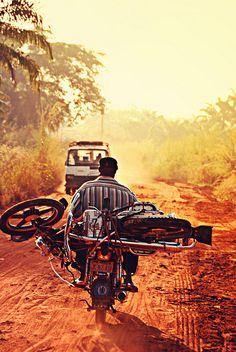 Man with a bike on a bike by Zadelia, via Flickr