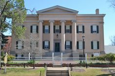 The old Governors Mansion in Milledgeville, Georgia.