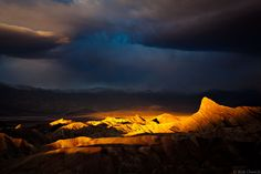 Death Valley Sunrise (Hexagram of the Heavens) – Zabriskie Point, Death Valley, California