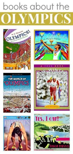 6 books that help your child share the spirit of the #Olympics. Click to view them in our #RaiseaReader blog.