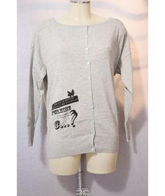 No Secret - Maglia donna TS061 - Grigio   Donna   Abbigliamento