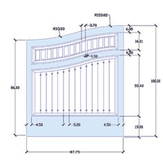 CAD Drawing of Your Gate Idea