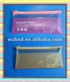 clear plastic pencil case,stationery bag,kids pencil bags pencil case $0.01~$0.5