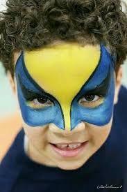 Resultado de imagem para maquiagem artistica infantil heróis