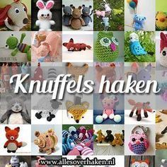 Pinning for the Knuffels Haken, I've no idea what it means but it's great to say - Knuffels haken. Haak een beer, of een muis, of een vos, of een uil of. Love Crochet, Diy Crochet, Crochet Dolls, Crochet Baby, Amigurumi Doll, Amigurumi Patterns, Crochet Patterns, Crochet Tutorials, Granny Square Crochet Pattern