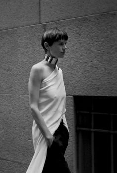 Saskia de Brauw in Muse #33 Spring 2013 by Vincent van de Wijngaard