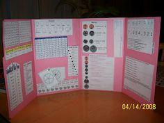 Math Lapbook (mini office)