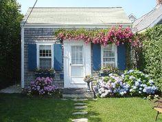 Brant Point cottage rental - Rose Covered Cottage -