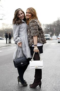 Fur coats and Chanel