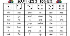 Roll and Read Sight Words.pdf Roll and Read Sight Words. Learning Sight Words, Sight Word Practice, Sight Word Games, Sight Word Activities, Reading Activities, Learning Time, Learning Styles, Writing Practice, Reading Strategies