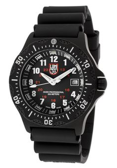 Men's Black Dial Black Silicone - Luminox Watch - was $500.0, now $329.0 (34% Off). Picked by olga @ eWatches