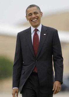 """This jackass loves to play to the cameras and loves what he is doing to the USA. He's largely failing but still is able to savor slaughtered Americans in Benghazi, dying Americans w/ no health insurance, letting the """"most dangerous"""" terrorists go free etc. He will be remembered for his evil agendas, his incompetence and his failures. Count on that. 1/20/17 OLD."""