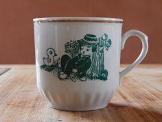 Soviet Vintage Tea Cup, Coffee or tea mug, Milk mug , Soviet era Tableware, Made in USSR Made In USS