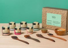 Soulspice spice packaging by Studio Grau » Retail Design Blog