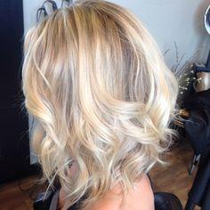 Short and sassy cut with beautiful blonde Hilites #flashlift #btcpics #shorthair