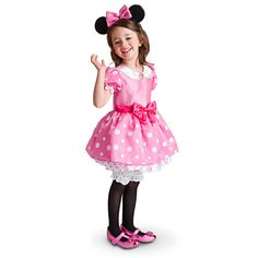 Minnie Mouse Costume for Girls - Pink   Costumes & Costume Accessories   Disney Store