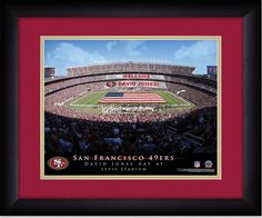 Your Name on a sign in Levis Stadium, Your Day at the Stadium.  Great gift for San Francisco 49ers Fans. Customize with your name on cards held by the fans and make it Your Day at the stadium.