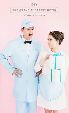 DIY The Grand Budapest Hotel couples costume idea