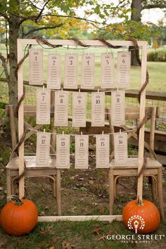 clothesline table assignments