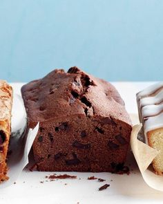 Double-Chocolate Pound Cake Recipe